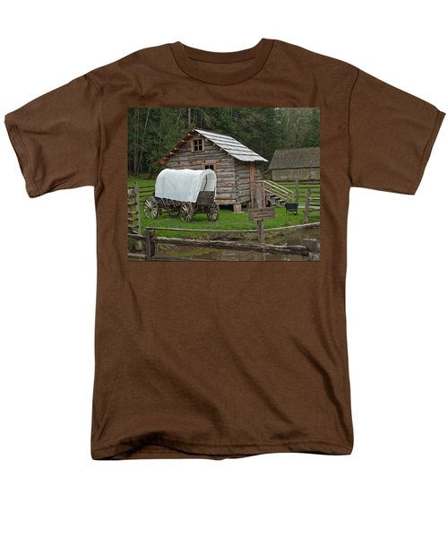Frontier Life Men's T-Shirt  (Regular Fit) by Tikvah's Hope
