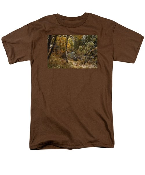 Frosty Fall  Morning Men's T-Shirt  (Regular Fit) by Duncan Selby