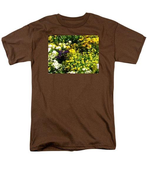 Garden Flowers Men's T-Shirt  (Regular Fit) by Oleg Zavarzin