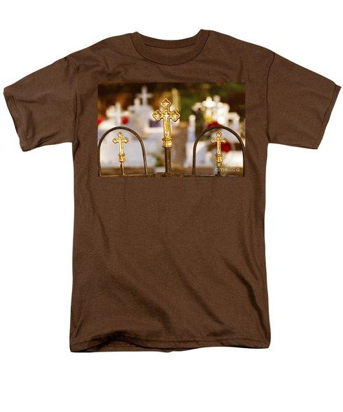 Men's T-Shirt  (Regular Fit) featuring the photograph Louisiana Cemetery by Luana K Perez