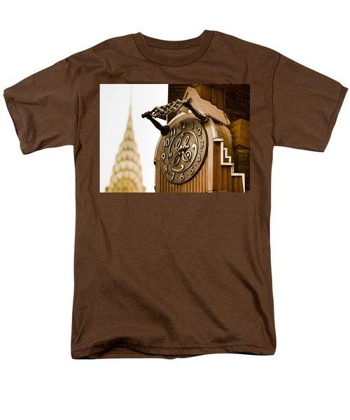 General Electric Building 2 Men's T-Shirt  (Regular Fit)