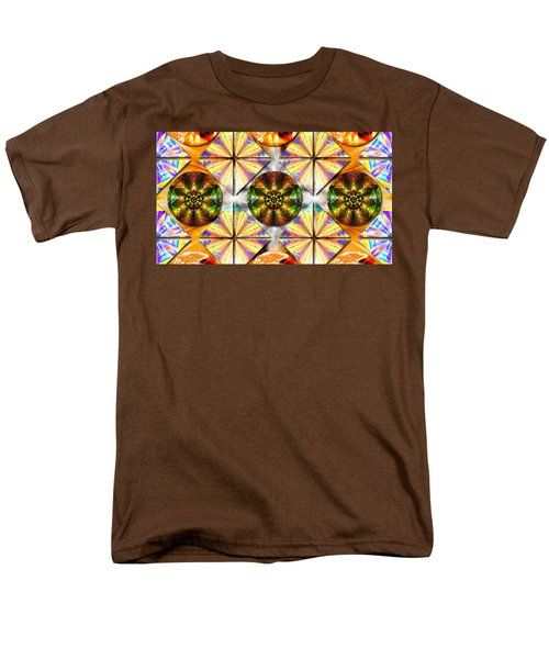 Geometric Dreamland Men's T-Shirt  (Regular Fit)