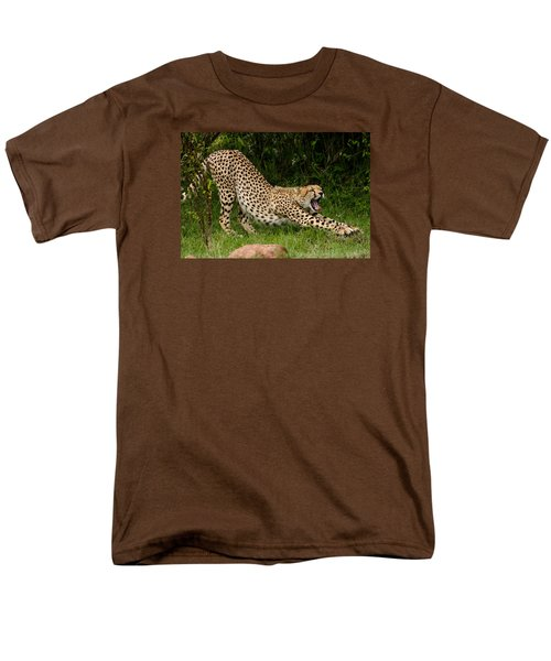 Getting Ready Men's T-Shirt  (Regular Fit) by Menachem Ganon