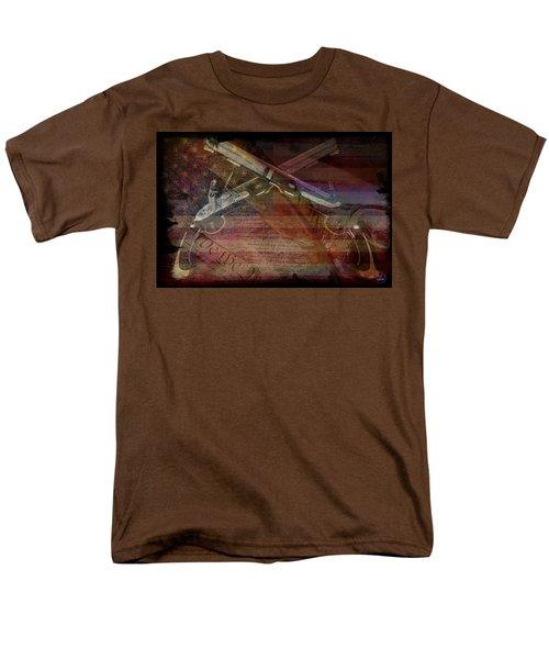 Gimme Back My Bullets Men's T-Shirt  (Regular Fit) by Absinthe Art By Michelle LeAnn Scott