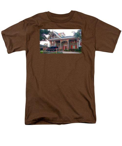 Gingerbread House - Metairie La Men's T-Shirt  (Regular Fit) by Deborah Lacoste