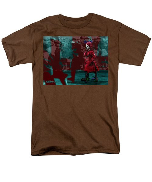 Girl In The Blood-stained Coat Men's T-Shirt  (Regular Fit) by Seth Weaver