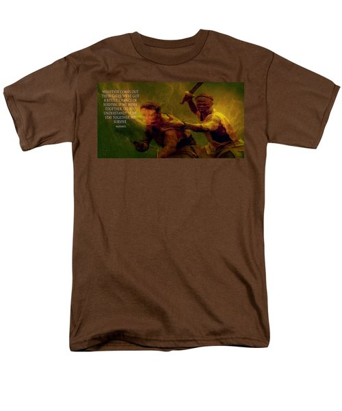 Men's T-Shirt  (Regular Fit) featuring the photograph Gladiator  by Brian Reaves