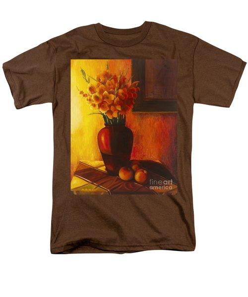 Gladioli Red Men's T-Shirt  (Regular Fit)