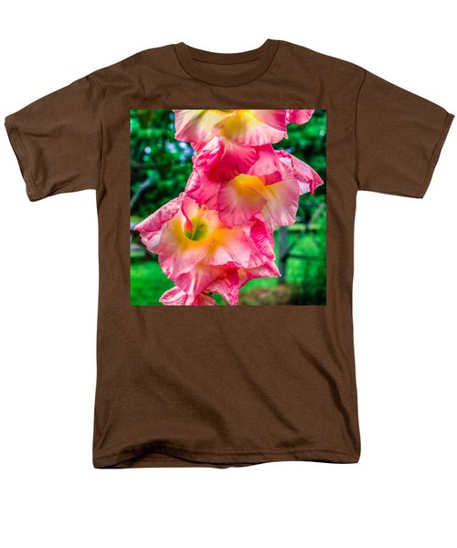 Men's T-Shirt  (Regular Fit) featuring the photograph Gladiolus by Rob Sellers