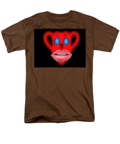 Glamour Monkey Blue Whirls Men's T-Shirt  (Regular Fit) by Catherine Lott