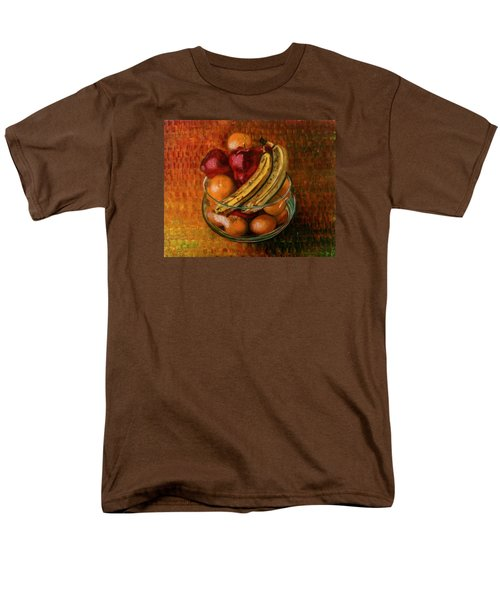 Glass Bowl Of Fruit Men's T-Shirt  (Regular Fit) by Sean Connolly