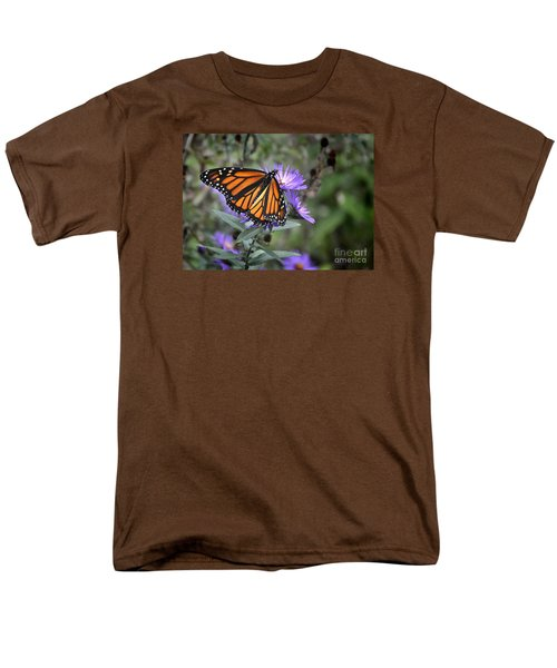 Men's T-Shirt  (Regular Fit) featuring the photograph Glowing Butterfly by Nava Thompson