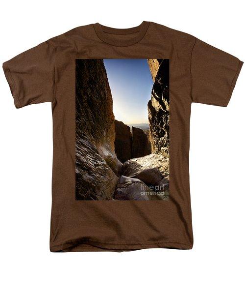 God's Eye View Men's T-Shirt  (Regular Fit) by Erika Weber