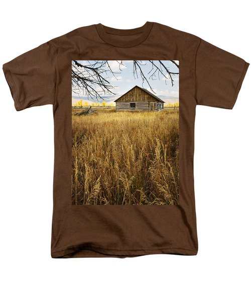 Golden Cabin Men's T-Shirt  (Regular Fit) by Sonya Lang
