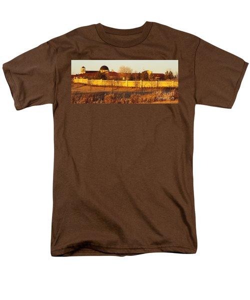 Golden Carmel Men's T-Shirt  (Regular Fit)