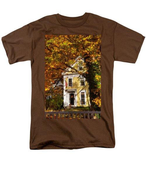 Golden Colonial Men's T-Shirt  (Regular Fit) by Joann Vitali