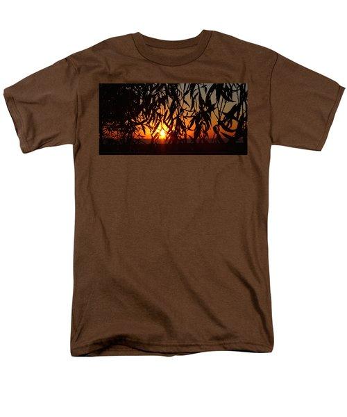 Good Morning Lake Michigan Men's T-Shirt  (Regular Fit) by Tiffany Erdman