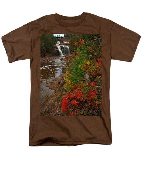 Gooseberry Foilage Men's T-Shirt  (Regular Fit) by James Peterson