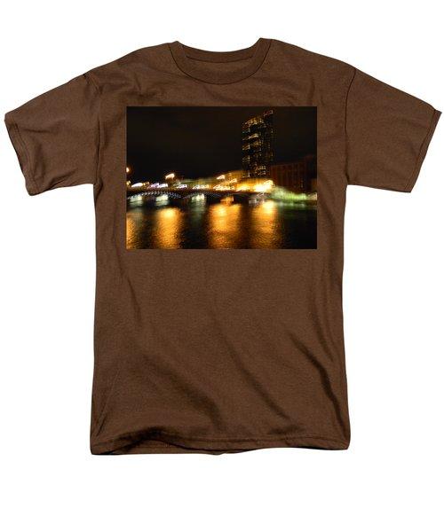 G.r. Grand River Glow Men's T-Shirt  (Regular Fit) by Mark Minier