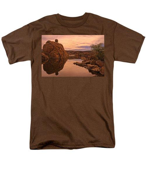 Granite Dells Men's T-Shirt  (Regular Fit) by Priscilla Burgers