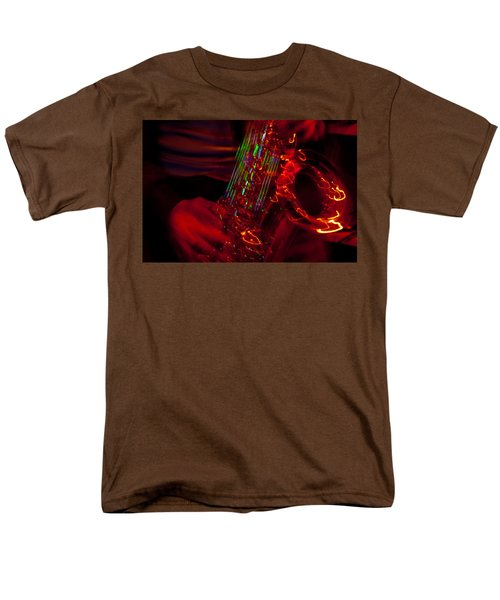 Men's T-Shirt  (Regular Fit) featuring the photograph Great Sax by Alex Lapidus