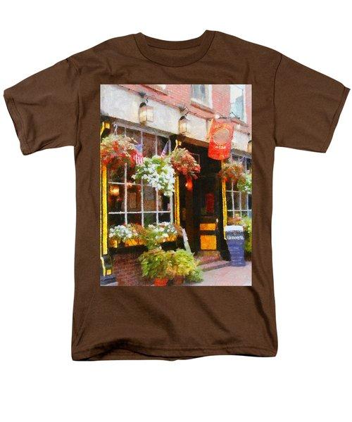Green Dragon Tavern Men's T-Shirt  (Regular Fit) by Jeff Kolker