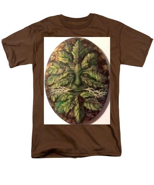 Greenman Men's T-Shirt  (Regular Fit) by Megan Walsh