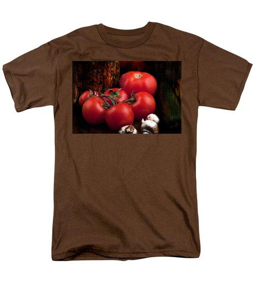 Group Of Vegetables Men's T-Shirt  (Regular Fit) by Gunter Nezhoda
