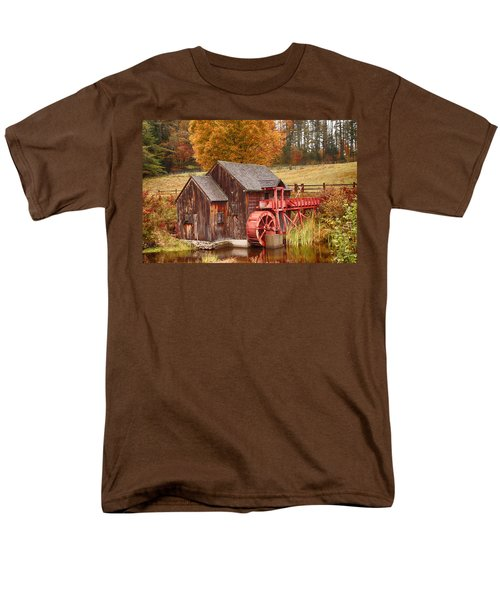Guildhall Grist Mill Men's T-Shirt  (Regular Fit) by Jeff Folger