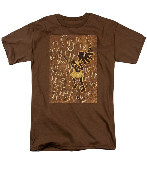 Guitar Player Men's T-Shirt  (Regular Fit) by Katherine Young-Beck