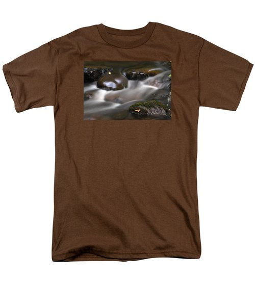 Men's T-Shirt  (Regular Fit) featuring the photograph Gurgling Brook by Andy Crawford