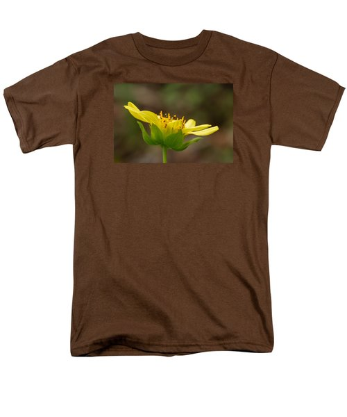 Men's T-Shirt  (Regular Fit) featuring the photograph Hairy Leafcup by Paul Rebmann