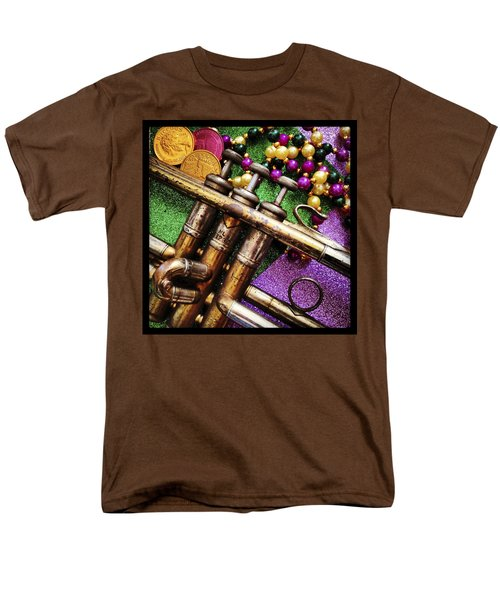 Happy Mardi Gras Men's T-Shirt  (Regular Fit) by KG Thienemann