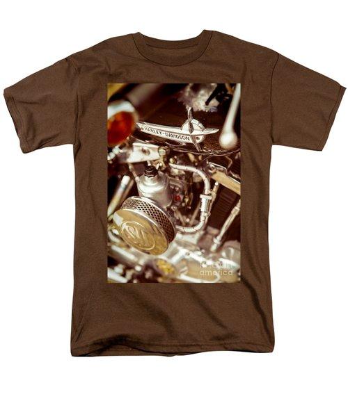 Harley Davidson Closeup Men's T-Shirt  (Regular Fit) by Carsten Reisinger