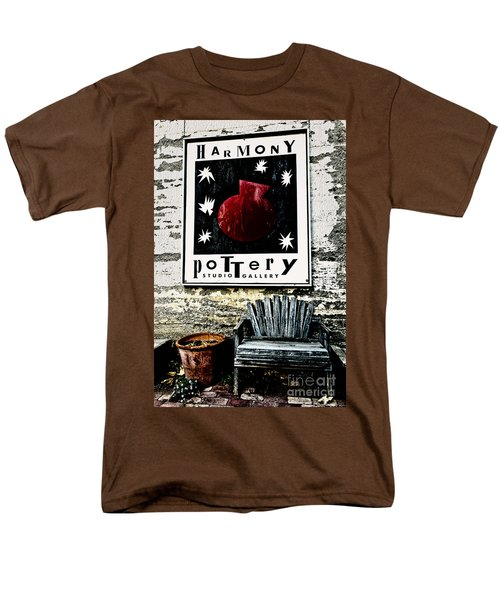 Harmony Pottery Men's T-Shirt  (Regular Fit) by Terry Garvin