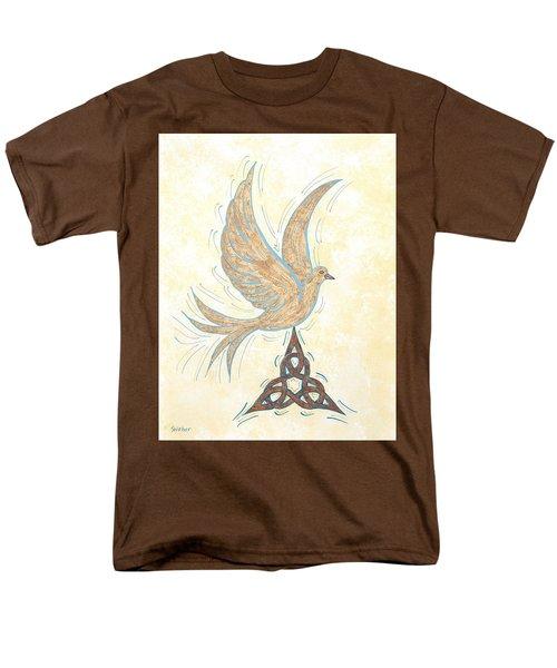 He Set Us Free Men's T-Shirt  (Regular Fit) by Susie WEBER