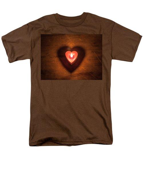 Heart Light Men's T-Shirt  (Regular Fit) by Aaron Aldrich