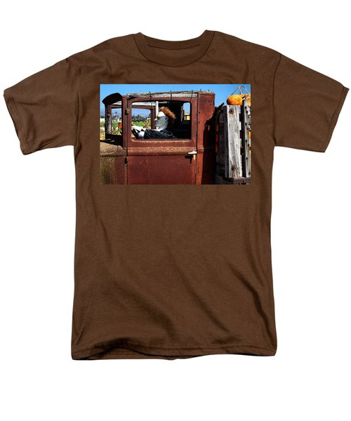 Men's T-Shirt  (Regular Fit) featuring the photograph Hell Bent To Market by Michael Gordon