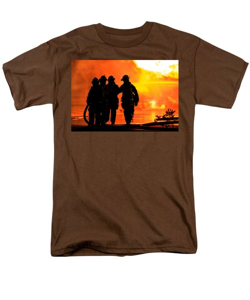 Hell Is For Hero's Men's T-Shirt  (Regular Fit) by Sennie Pierson