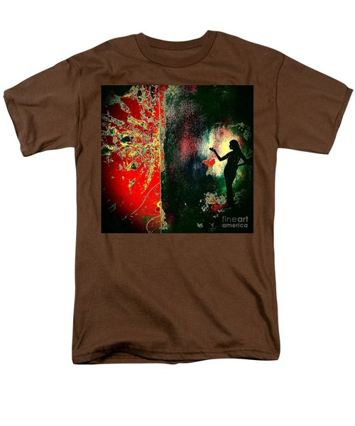 Her Power To Create Men's T-Shirt  (Regular Fit) by Jacqueline McReynolds