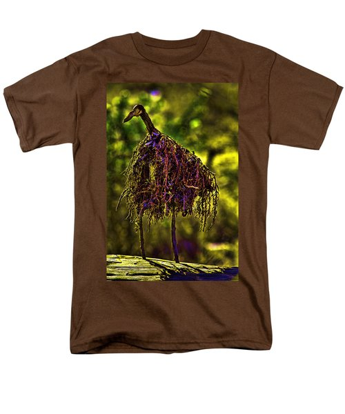Men's T-Shirt  (Regular Fit) featuring the photograph Heron Totem by Gary Holmes