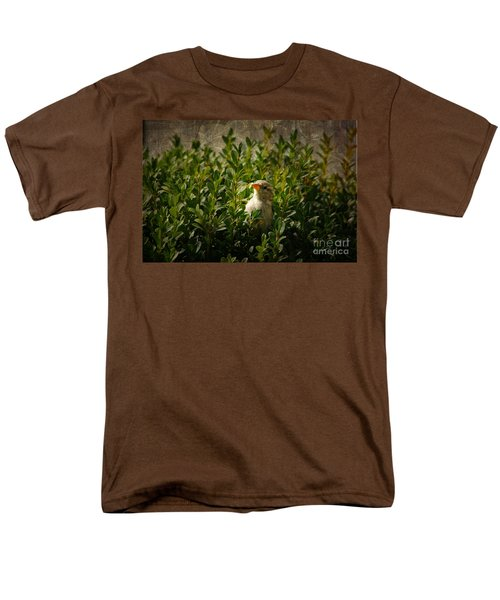 Men's T-Shirt  (Regular Fit) featuring the photograph Hide And Seek by Mariola Bitner