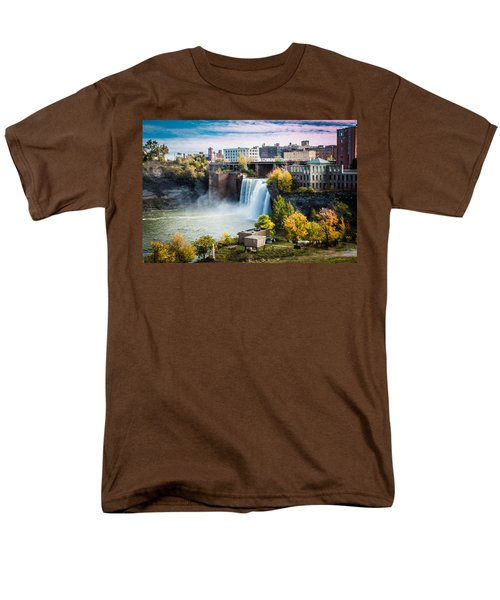 High Falls Rochester Men's T-Shirt  (Regular Fit)