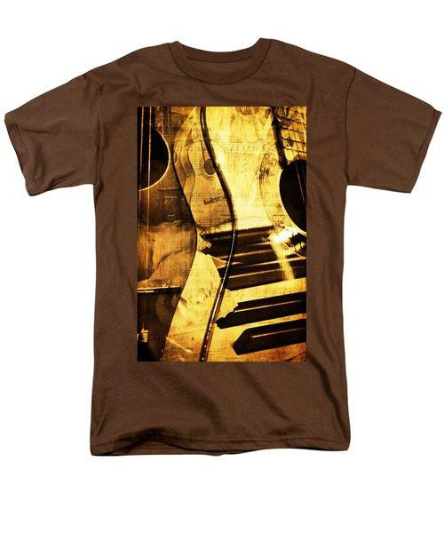 High On Music Men's T-Shirt  (Regular Fit) by Randi Grace Nilsberg