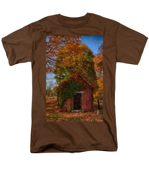 Holding Up The  Fall Colors Men's T-Shirt  (Regular Fit) by Jeff Folger