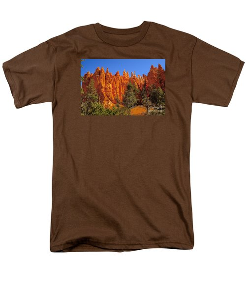 Hoodoos Along The Trail Men's T-Shirt  (Regular Fit) by Robert Bales