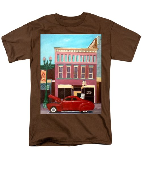 Hot Coffee Men's T-Shirt  (Regular Fit) by Stacy C Bottoms