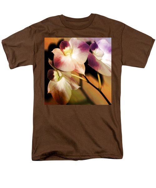Hot Orchid Nights Men's T-Shirt  (Regular Fit) by Holly Kempe