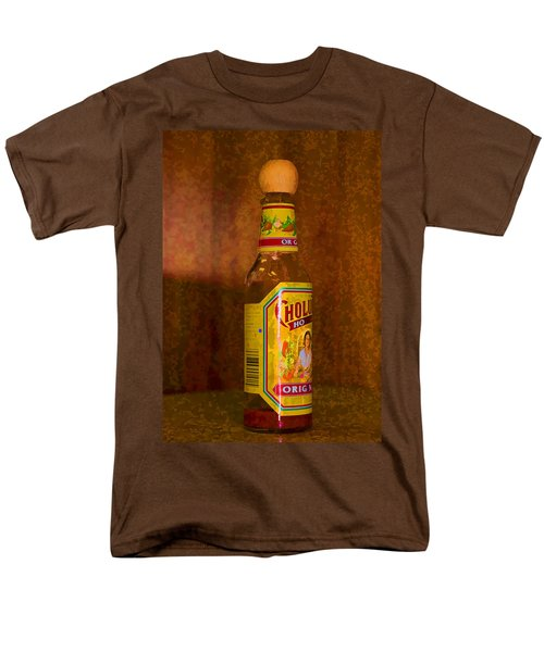 Hot Sauce Two Men's T-Shirt  (Regular Fit) by Cathy Anderson