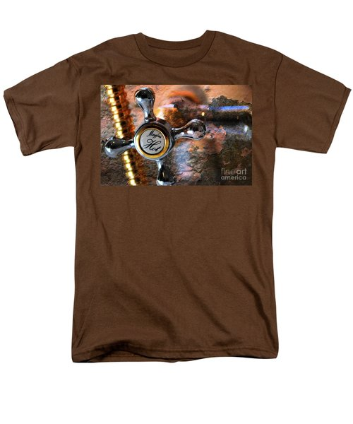 Men's T-Shirt  (Regular Fit) featuring the photograph Hot Water by Randi Grace Nilsberg